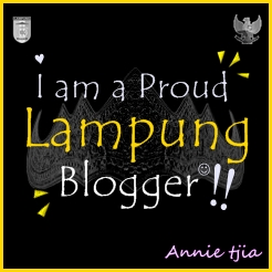 I am a Proud Lampung Blogger!
